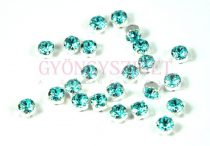 Swarovski - 5320 - chaton montees - varrható chaton - light turquoise - 4mm