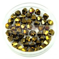 Swarovski bicone 4mm - Crystal Dorado 2x