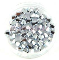 Swarovski bicone 3mm - crystal cal 2x