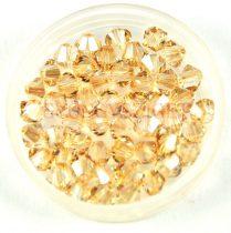 Swarovski bicone 3mm - crystal golden shadow