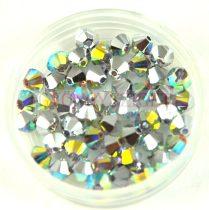 Swarovski bicone 4mm - crystal ab cal
