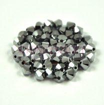 Swarovski bicone 4mm - crystal light chrome 2x