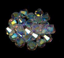 Swarovski bicone 6mm - crystal ab 2x