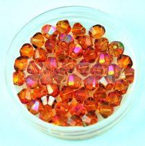 Swarovski bicone 3mm - crystal astral pink