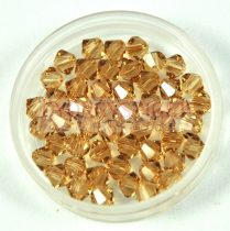 Swarovski bicone 3mm - light colorado topaz
