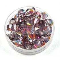 Swarovski bicone 6mm - Crystal Lilac Shadow