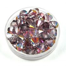 Swarovski bicone 6mm - Crystal Lilac Shadow