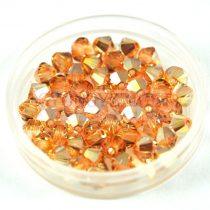 Swarovski bicone 3mm - crystal metallic sunshine