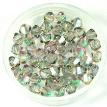 Swarovski bicone 6mm - crystal paradise shine