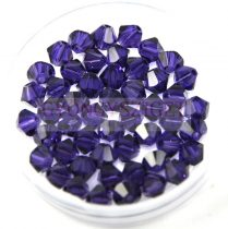 Swarovski bicone 4mm - purple velvet