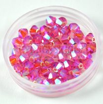 Swarovski bicone 4mm - Rose ab2x