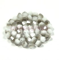 Swarovski bicone 4mm - white alabaster satin