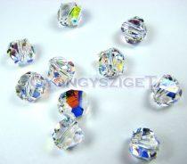 Swarovski - 5603 - Crystal ab graphic cube -8mm