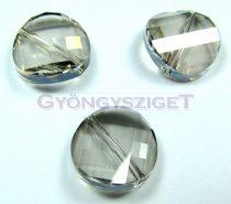 Swarovski - 5621 - crystal silver shade twist - 14mm