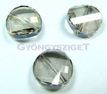Swarovski - 5621 - crystal silver shade twist - 14mm