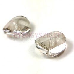 Swarovski - 5621 - crystal silver shade twist - 18mm
