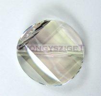 Swarovski - 5621 - crystal silver shade twist - 22mm