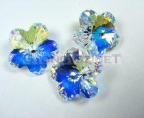 Swarovski - 5744 - crystal ab virág - 10mm