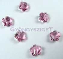 Swarovski - 5744 - light rose virág -8mm