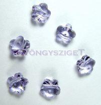 Swarovski - 5744 - violet virág -8mm