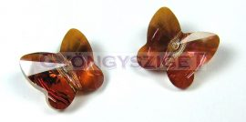 Swarovski - 5754 - Crystal copper pillangó - 12mm