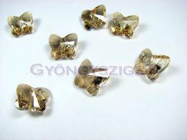 Swarovski - 5754 - Crystal golden shadow pillangó - 12mm
