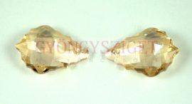 Swarovski - 6090 - 22x15mm - Crystal golden shadow barokk csepp