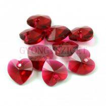 Swarovski beadable heart 10.3x10.0mm - Scarlet
