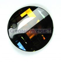 Swarovski - 6621 - 28mm - Crystal tabac Twist medál