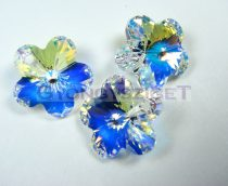 Swarovski - 6744 - 20mm - Crystal ab Virág medál