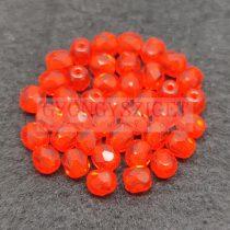 Cseh csiszolt golyó gyöngy - Hyacint -4mm