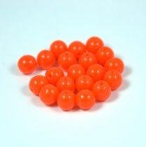 Préselt golyó gyöngy- telt narancs -6mm