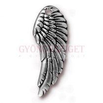 Medál - Wing - antik ezüst színű