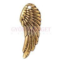Medál - Wing - arany színű