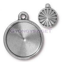 Köztes elem - 18mm-es rivolihoz - antik ezüst színű