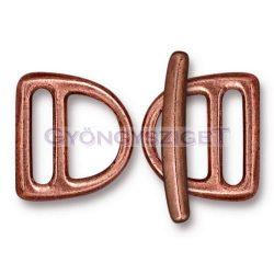 D-kapocs szett - 3 darabos - antik vörösréz színű
