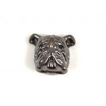 Köztes elem - pillangó - antik ezüst színű - 10x14mm