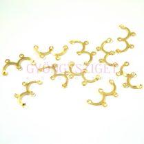 Köztes elem  - arany színű - 10mm - 539