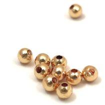 Medálvezető - arany színű - inka - 15x10mm
