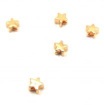 Medálvezető - arany színű - hajlított cső - 16x24 mm - 255