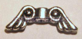 Angyalszárny - antik ezüst színű - 15mm - görög