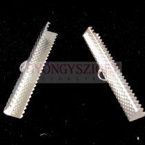 Medál - angyalhívó - ezüst színű - 35x34x17mm