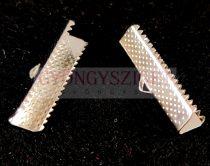 Medál - angyalhívó - ezüst színű - 27x24x20mm
