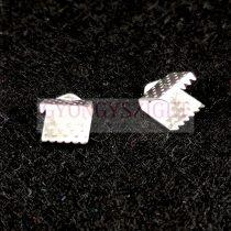 Medál - angyalhívó - ezüst színű - 29x26x22mm