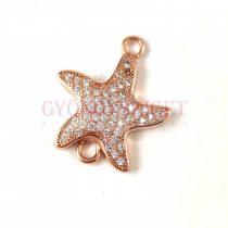 Gyöngykupak - arany színű - Star - 5mm