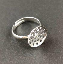 Köztes elem - csillag- arany színű - cirkóniás - 8x6mm