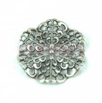 Köztes elem - antik ezüst színű - 24mm