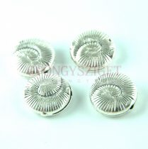 Köztes elem - antik ezüst színű  - 18.5 x 7.5 mm