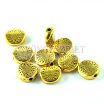 Köztes elem - arany színű  - 8.5 x 8.5 x 3.5 mm