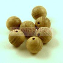 Fa gyöngy - burly wood - 10mm